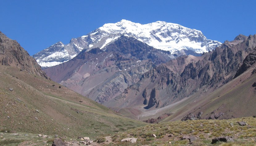 Aconcagua, The Andes, Argentina