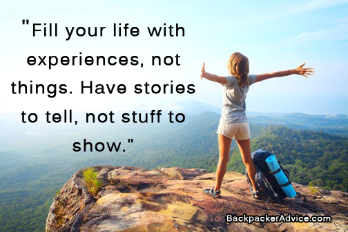 List Of 101 Inspirational Travel Quotes Backpacker Advice