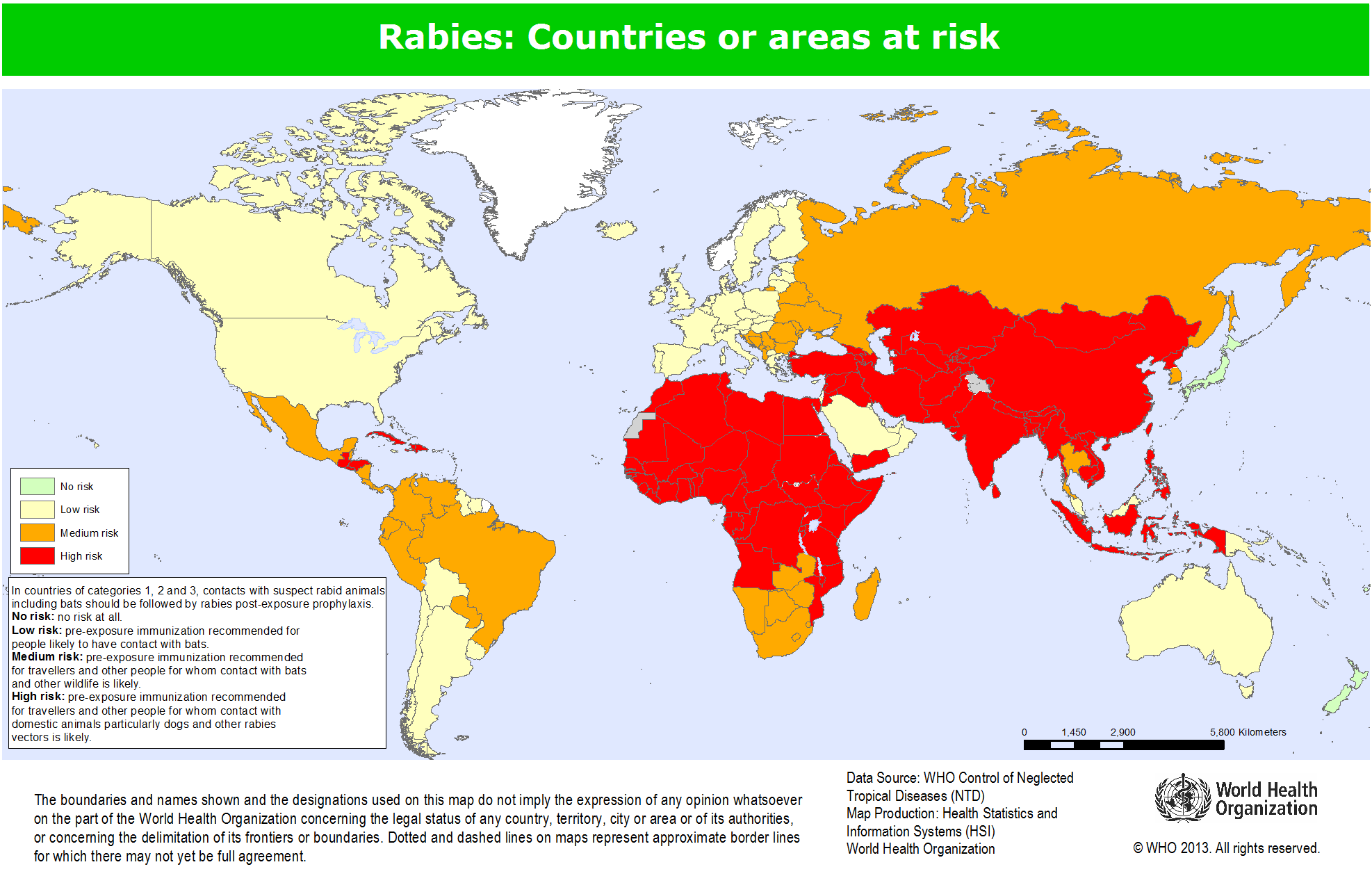 Map Of Asia No Names.Rabies Vaccination Before Travelling Do I Need One Backpacker